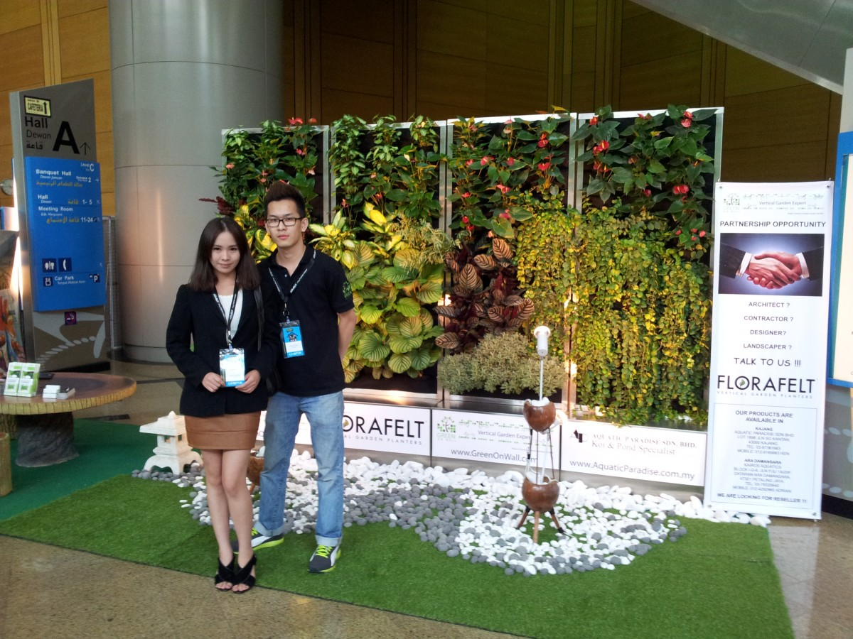 Exhibition Vertical Garden Deco
