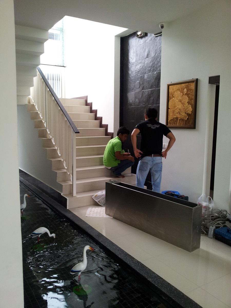 Indoor vertical garden lush eco for Eco indoor garden house