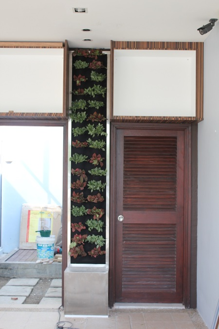 Vertical Garden in Setia Eco Park - Car Porch